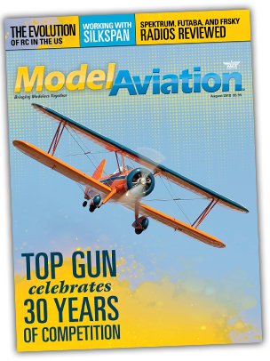 Model Aviation magazine cover