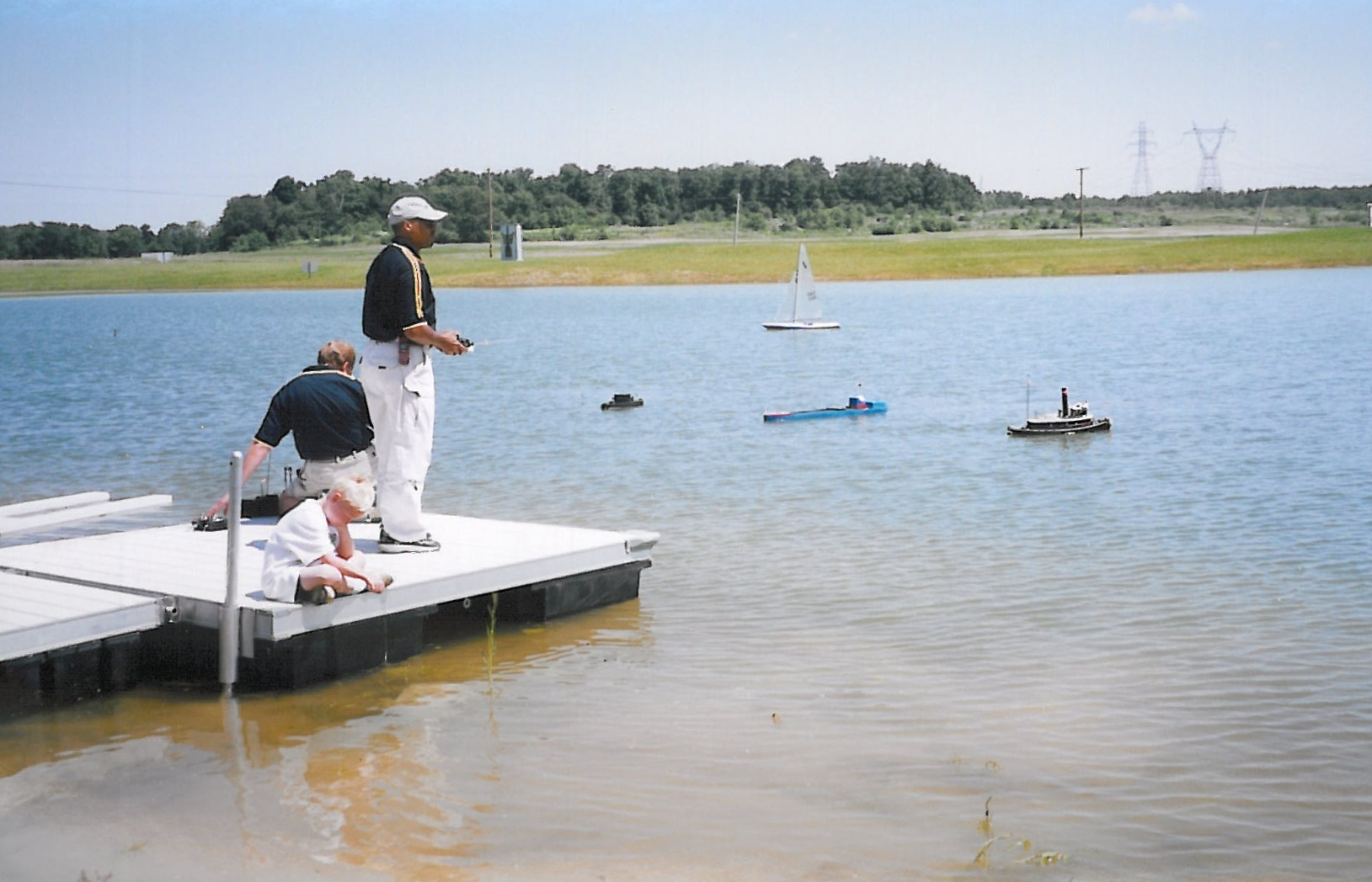 Radio Control boating, Grand Event, July 9, 2001. (Source: National Model Aviation Museum Archives, AMA Collection #0001, Photo Credit: AMA staff.)